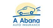 A Abana Auto Insurance logo