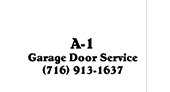 A-1 Garage Door Service logo