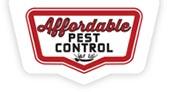 Affordable Pest Control logo