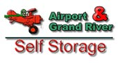 Airport & Grand River Self Storage logo
