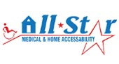 All Star Medical and Home Accessability logo