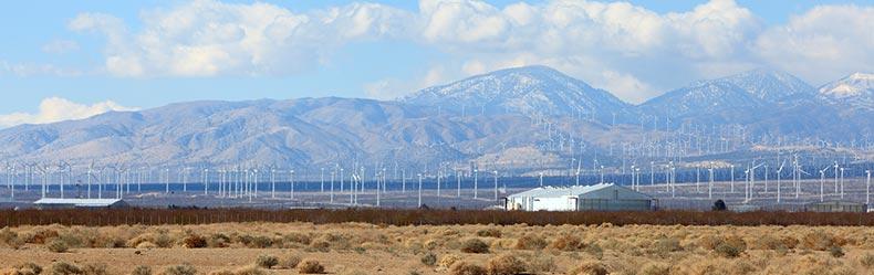 Bakersfield skyline