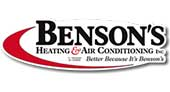 Benson's Heating and Air Conditioning logo