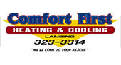 Comfort First Heating and Cooling logo