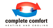 Complete Comfort Heating and Cooling logo