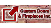 Custom Doors & Fireplaces logo
