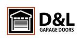 D & L Garage Doors logo