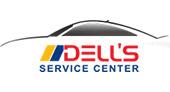Dell's Service Center logo