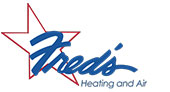 Fred's Heating and Air logo