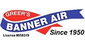 Greer's Banner Air of Bakersfield logo