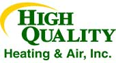 High Quality Heating and Air logo