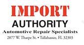 Import Authority logo