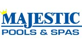 Majestic Pools & Spas logo