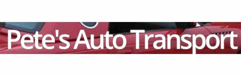 Pete's Auto Transport