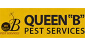 Queen B Pest Services and Mosquito Control logo