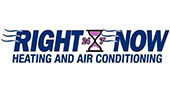 Right Now Heating and Air Conditioning logo