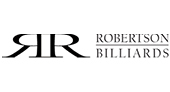 Robertson Billiards & Spas logo