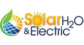 Solar H2O and Electric logo