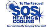 SOS Heating & Cooling logo