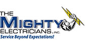 The Mighty Electricians logo