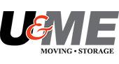 U & Me Moving and Storage logo