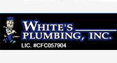 White's Plumbing Inc. logo