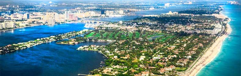 West Palm skyline