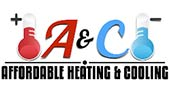A&C Affordable Heating & Cooling logo