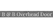 B&B Overhead Door logo