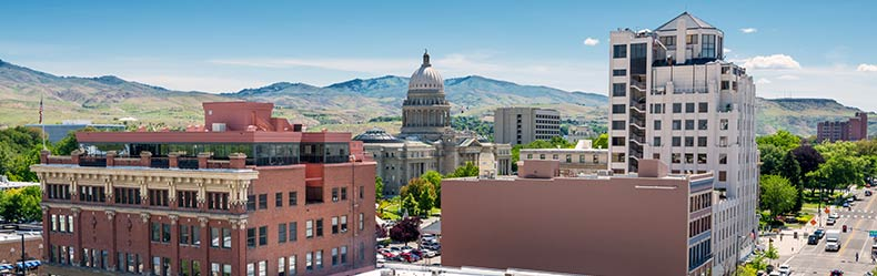 Boise skyline
