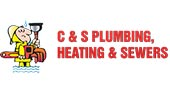 C & S Plumbing, Heating & Sewers logo