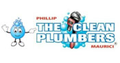 The Clean Plumbers logo