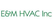 E&M HVAC Inc. logo