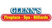 Glenn's Fireplace and Spa logo