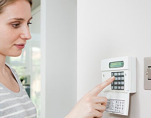 home alarm keypad tulsa