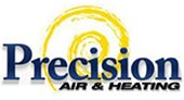 Precision Air & Heating logo