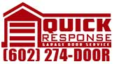 Quick Response Garage Door Service logo