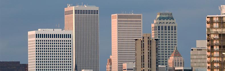 Tulsa skyline