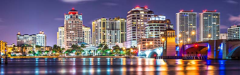 West Palm Beach skyline